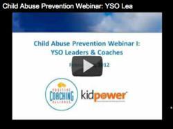 Child Abuse Prevention Webinars