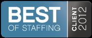 2012 Best of Staffing Winner