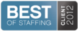 SPARKS is named to Inavero's 2012 Best of Staffing Client List