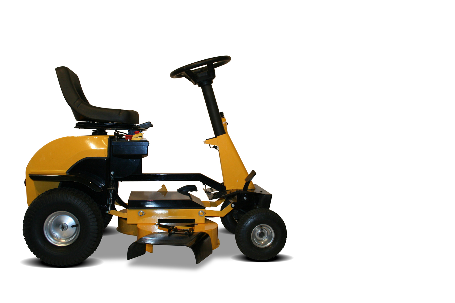 The New Recharge Mower G2 Electric Rechargeable Riding