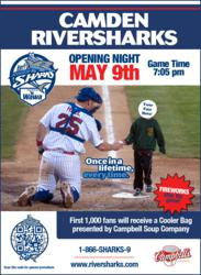 Minor League Baseball Mobile Marketing Camden Riversharks