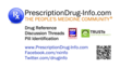 PrescriptionDrug-Info.com - The People's Medicine Community