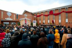 More than 1,000 Scientologists and guests attended the inauguration of the new Church of Scientology Greater Cincinnati on February 25, 2012.  Mr. David Miscavige, Chairman of the Board Religious Technology Center and ecclesiastical leader of the Scientol