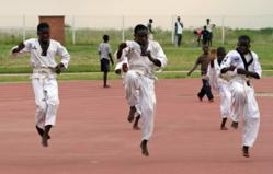 Sport bringing hope to young people in Zambia