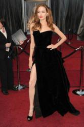 Angeline Jolie's 2012 Oscar Look