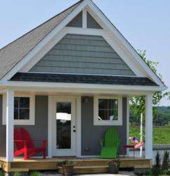 Homeway Homes and Heritage Harbor Ottawa have formed a partnership to create the seaside cottages at the Ottawa, Ill., resort community Heritage Harbor.