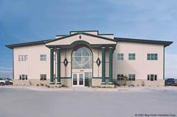 Olympia Steel Buildings Modular Office Building
