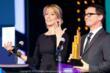 Leap Year's Alexis Boozer and Joshua Malina at the 2012 IAWTV Awards