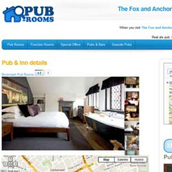 Fox Anchor boutique pub accommodation London