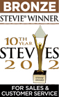 Stevie Awards Bronze Winner 2012