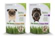 Pet Greens Freeze Dried Dog Treats, made with wheat grass, debut at Global Pet Expo