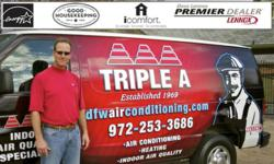 Triple A Air Conditioning and Furnace Repairs in Flower Mound TX