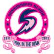 Mississippie Surge Pink in the Rink Logo
