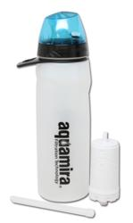 Aquamira, water bottle, water filter, water treatment