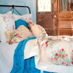 Girls Vintage Bedding and Girls Dorm Bedding