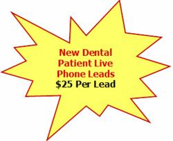 Exclusive Dental Marketing Leads Only $25
