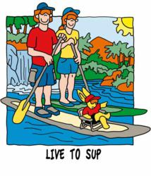 SUP, standup paddle t-shirts