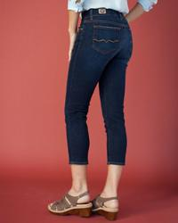 Red Engine Viper Capri Jeans
