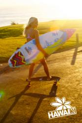 Girl surfboards, surf swimwear and skincare designed by girl surfers for girl surfers