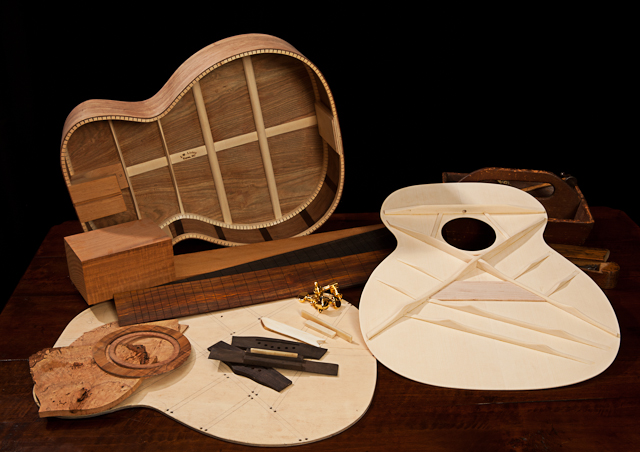 acoustic guitar building workshop taught by custom guitar builder jay lichty at tryon arts and. Black Bedroom Furniture Sets. Home Design Ideas