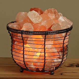 Himalayan Crystal Salt Lamps Commonly Recommended by Holistic Health Practitioners; The Salt ...