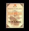Boarding Pass from Titanic: The Artifact Exhibition