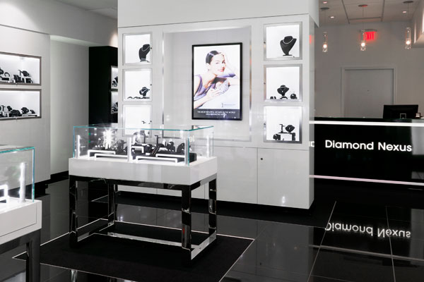 display and design ideas magazine features new diamond nexus