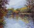 Oil painting of Malibu Creek