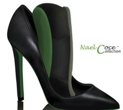 Eco-friendly, convertible, high heel, flat, shoe, green, pumps, stylish, comfortable, fashion, style, trend, concealed