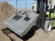 In field tests, LockLid K-Series lids lifted a concrete apron weighing approximately 3,000 lbs.