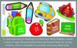 Kids Labels, Childrens Labels, Name Bubbles Giving Program, Reading Is Fundamental, RIF