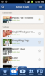 TalkOver allows you to comfortably browse through the sorted list of your chats.