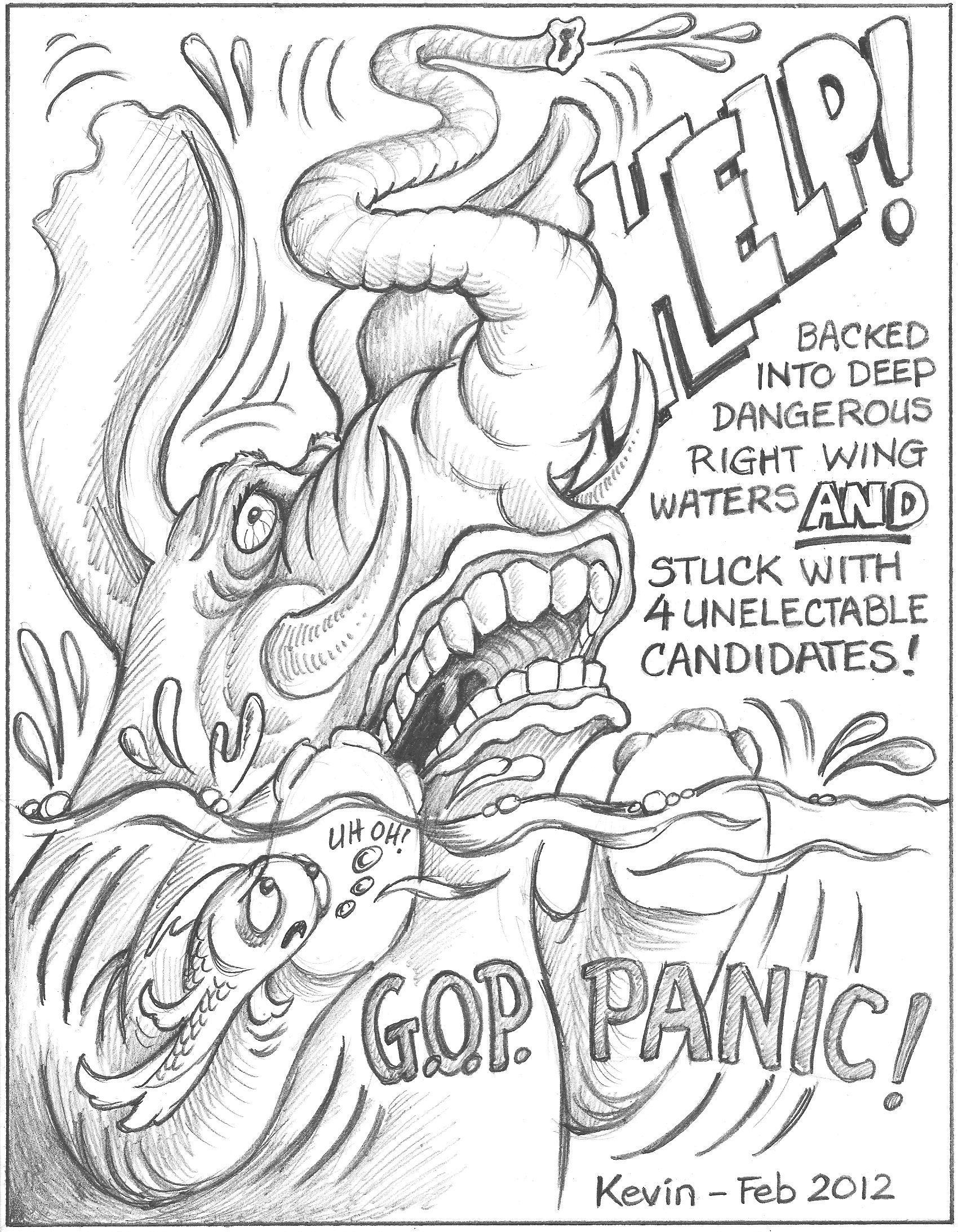 ol gop panic cartoon feb jpg cb essay term paper risk management
