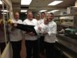 Nutrisystem Celebrity Chef Culinary Council having fun during a recent quarterly meeting.
