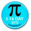 Free Pi Day Button
