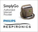 SimplyGo Portable Oxygen Concentrator Authorized Internet Provider