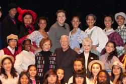 Carousel Cast Photo with President Jimmy Carter, Mrs. Rosalynn Carter and Academy Award Winner Shirley Jones