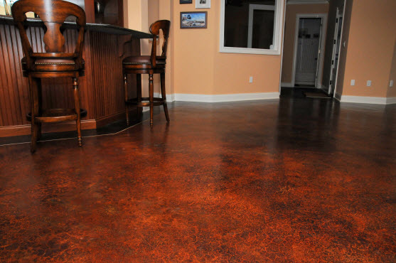 Decorative concrete resurfacing st louis announces 2012 for Indoor cement flooring