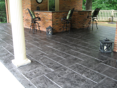 decorative concrete overlay.  concrete driveway stamped st louis stamping coatings Decorative Concrete Resurfacing St Louis Announces 2012