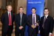 Andrew Wallwork and Chris Hough recieving the award