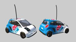 Domino's branded car in new PlayStation MotorStorm: RC game