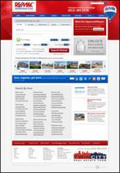 Website for Minnesota Realtor Tom Scott