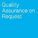 Logo of the software testing company QA on Request
