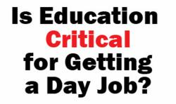 education critical for jobs