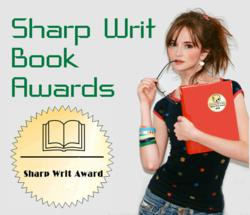 Logo and marketing image for 2012 Sharp Writ Book Awards