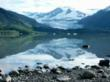 View of Mendenhall Glacier