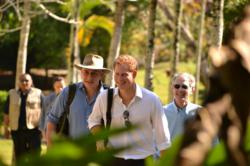 Prince Harry said he found Chaa Creek to be very relaxing.