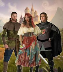 Medieval and Renaissance era costumes & Get In Character with Costumes at the Renaissance Faire