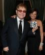 Sir Elton John and Laura Slatkin