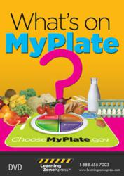 What's On MyPlate? DVD USDA MyPlate Guidelines